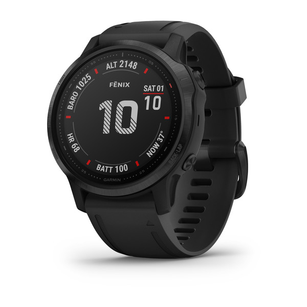 fenix 6S Pro - Black with Black Band (10)