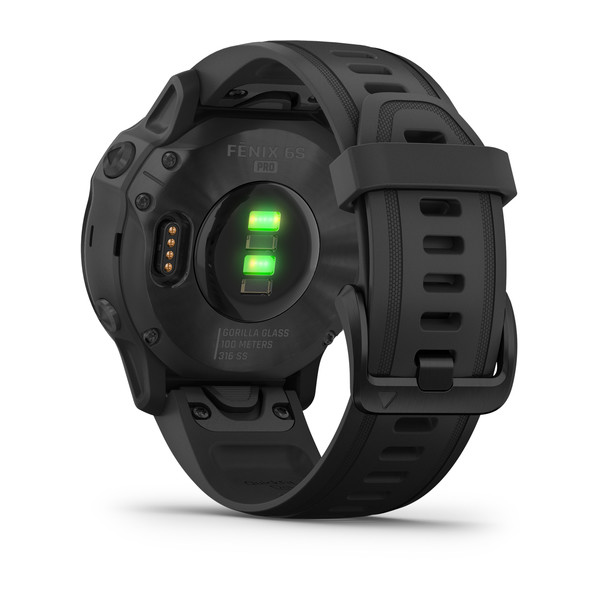 fenix 6S Pro - Black with Black Band (8)